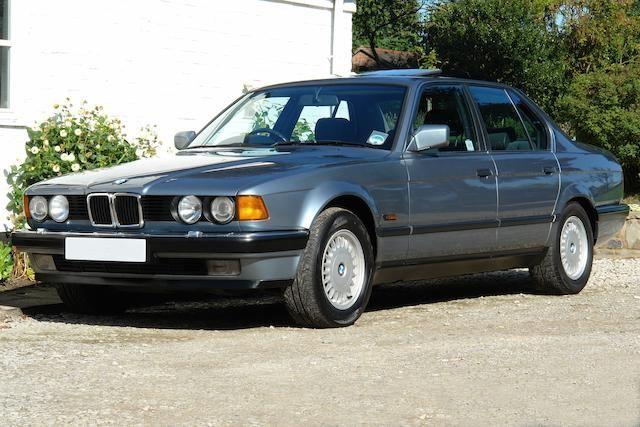 1989 BMW 730i SE