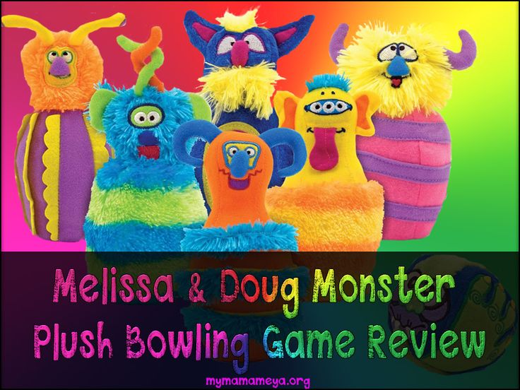If you are looking for bowling games for kids you are going to love the adorable Melissa & Doug Monster Plush Bowling Game. It is the BEST kids bowling set for for children from two to ten year... http://mymamameya.org/melissa-doug-monster-plush-bowling-game-review/