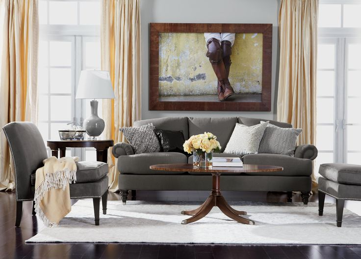 Easy Elegance Living Room | Ethan Allen Part 54