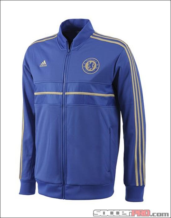 e7d4fc7c9e2f adidas Chelsea Anthem Jacket - Reflex Blue with Gold... 76.49 ...