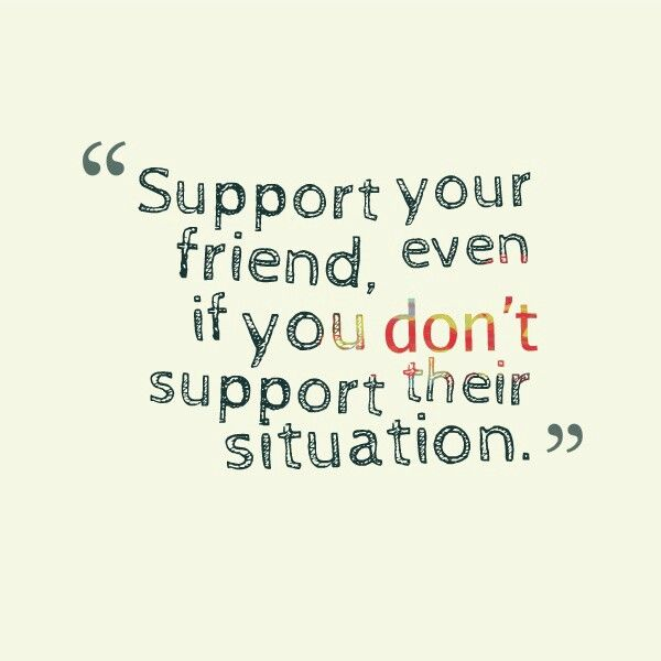 how to support a friend in a hopeless situation