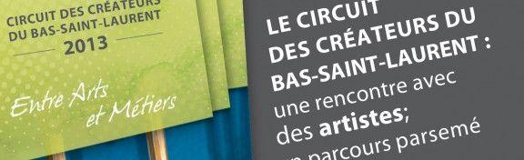 Circuit des créateurs | Métiers d'art/Bas-Saint-Laurent pour découvrir les talents d'ici!