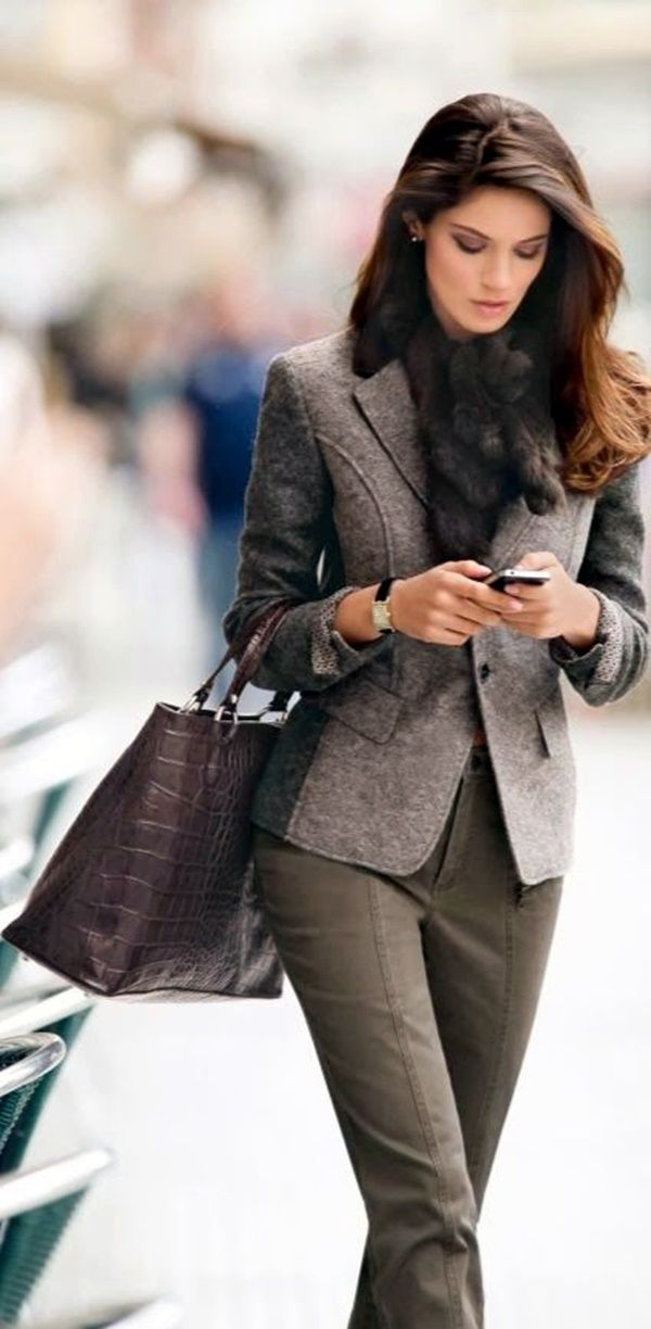 Best 25+ Business look ideas on Pinterest | Black and white jacket Work wear office and Classy ...