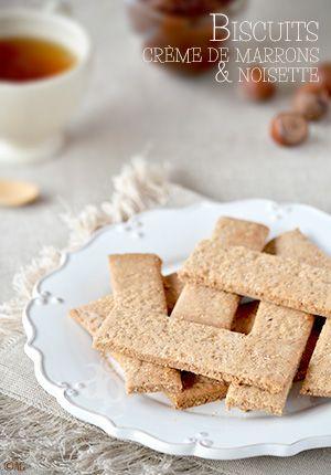 Ce n'est pas mon premier essai de biscuits à la crème de marrons… Et chaque fois ce fut un succès. Aaaahhh! La crème de marrons… On ne se lasse pas de lui trouver de nouveaux usages! L'avantage d'ajouter de la...