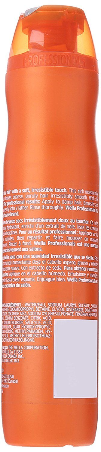 Wella Enrich Moisturizing Shampoo for Coarse Hair for Unisex, 10.1 Ounce -- Click on the image for additional details. #hairstylist
