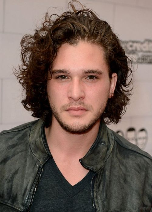 Curly Shags hairstyles for curly hair mens