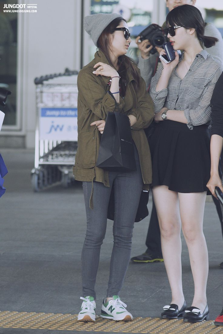 Krystal & Sulli from f(x)