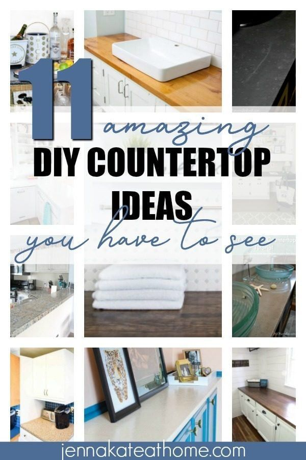 11 Amazing Diy Countertops You Have To See Cheap Kitchen