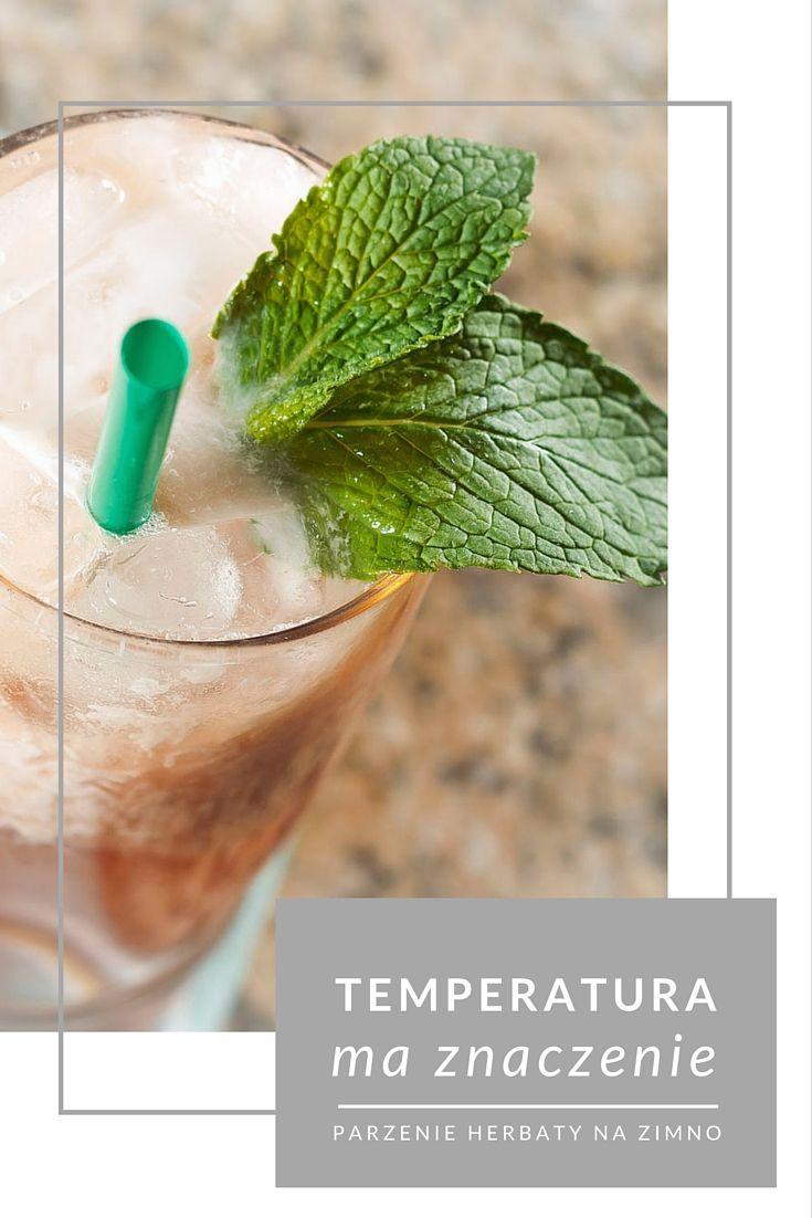 Herbata parzona na zimno to sposób na nowy smak herbaty. Spróbuj!