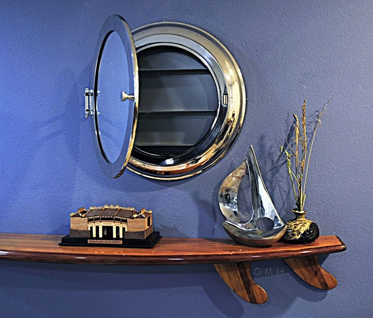 nautical mirror bathroom porthole wall mirror with storage nautical and coastal 13797