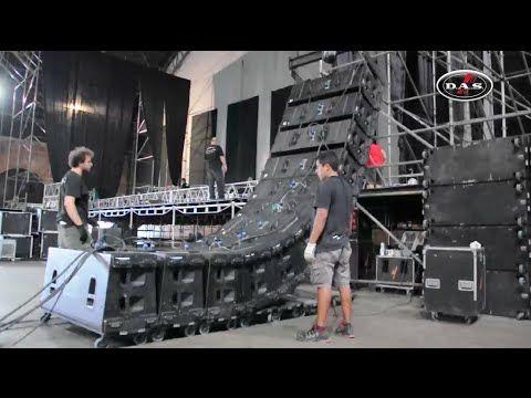 D.A.S. Audio / PixelVision - Alejandro Sanz, La Beriso en Rosario 2016 - YouTube