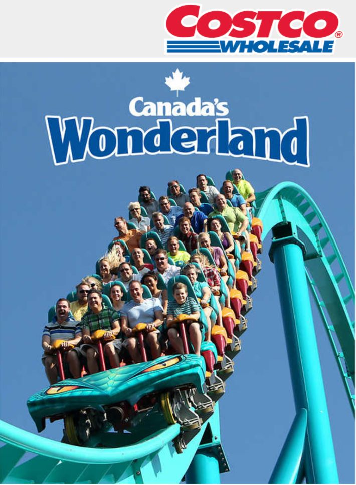 Costco Canadas Wonderland Online Offers: Save $9 on General Admission Ticket Now $30.99 http://www.lavahotdeals.com/ca/cheap/costco-canadas-wonderland-online-offers-save-9-general/219722?utm_source=pinterest&utm_medium=rss&utm_campaign=at_lavahotdeals