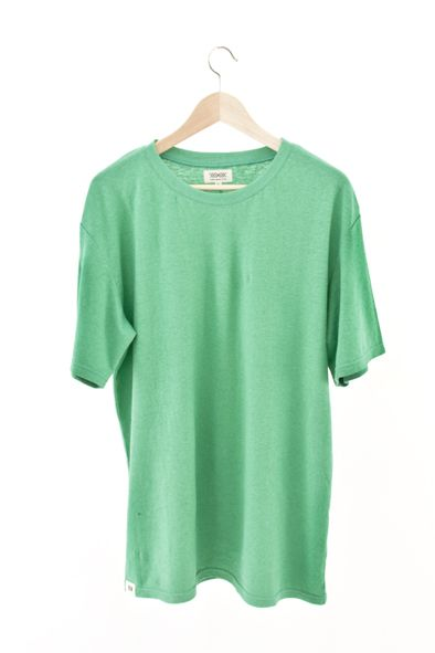 RCM CLOTHING / T-SHIRT BASIC | MING GREEN  Sustainable Hemp Wear, 55% hemp 45% organic cotton jersey http://www.rcm-clothing.com/