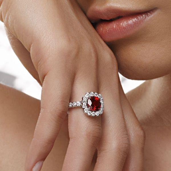 Philip Press ruby ring