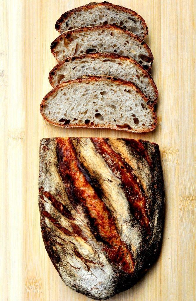 Durum Wheat Sourdough Bread