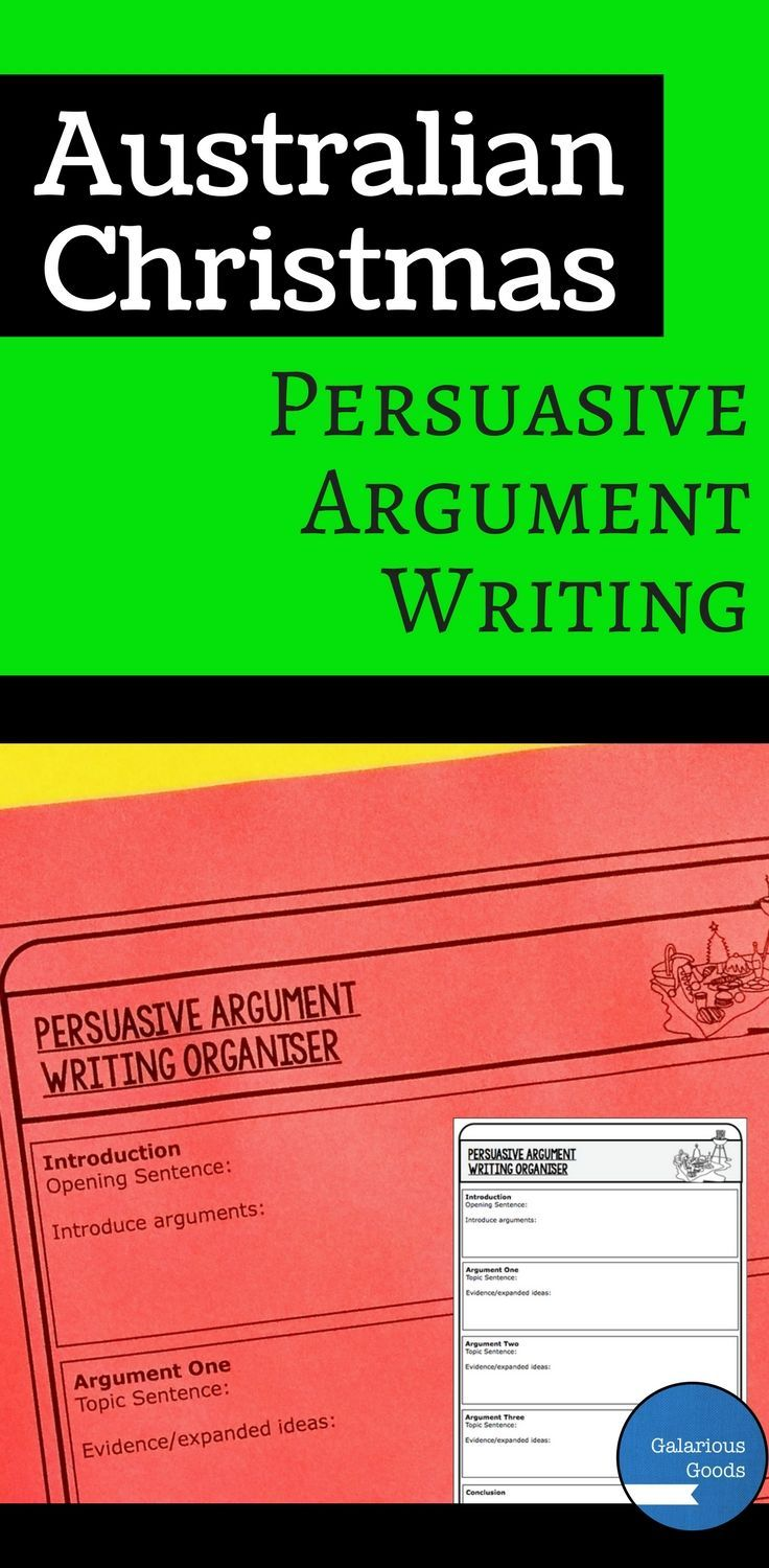 Mix persuasive writing and Christmas with this Australia Christmas persuasive argument prompts. Includes 6 prompts as task sheets and task cards and an extensive range of supporting activities and organisers.