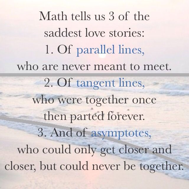 Quotes Sad Love Story: #math #love #quotes