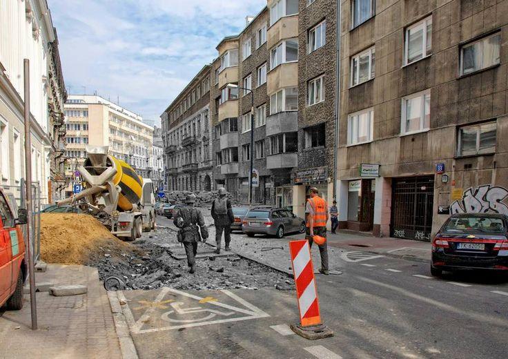 Koszykowa w kierunku Mokotowskiej www.teraz44.pl