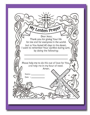 Breathtaking image intended for lent coloring pages printable