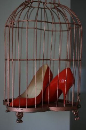 caged louboutins