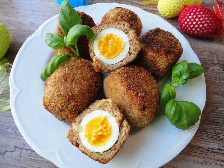 Pyry na Gaz: Scotch egg - jajka w mięsie