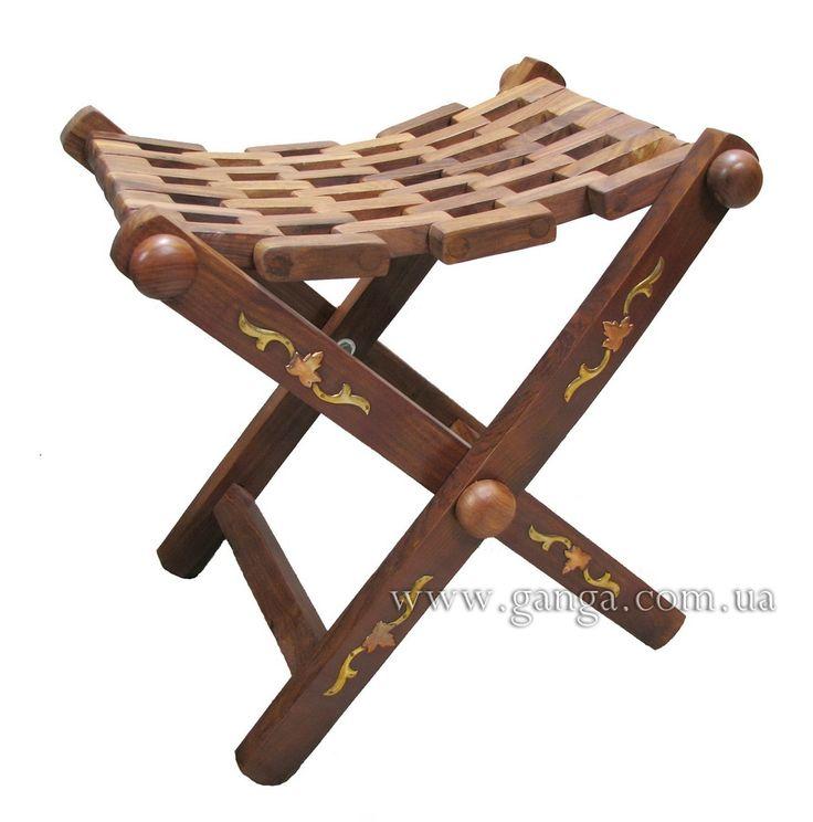 Табурет ручной работы | Стулья и табуреты | Индийская мебель | Компания Ганга