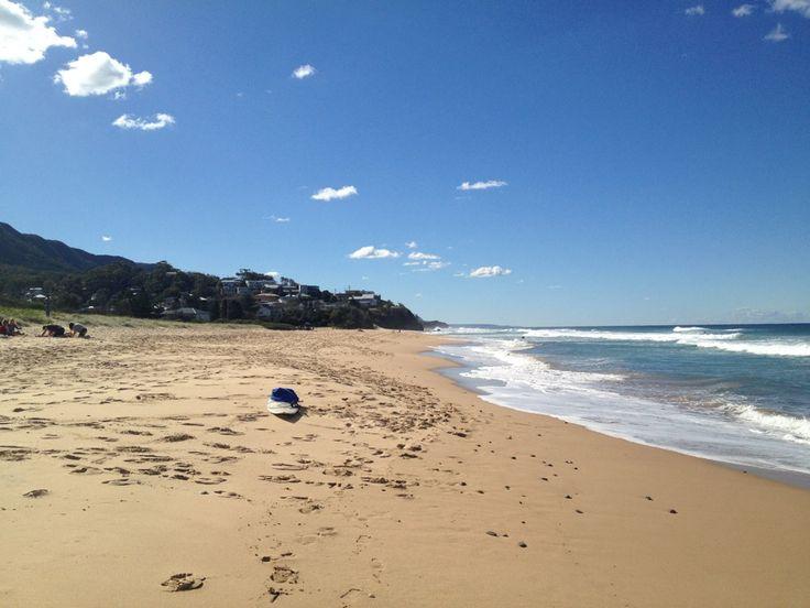 Thirroul Beach in Thirroul, NSW