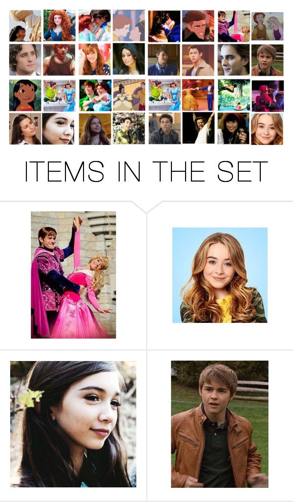"""""""from Alex to Bailey Rolfe; from Derek Hawkins to Evangeline Pelekai; from Giselle Pan to Maya Bjorgman"""" by kathy ❤ liked on Polyvore featuring art"""