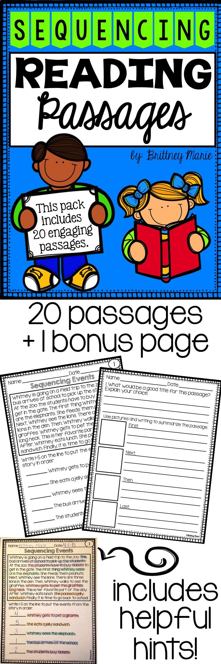 Printables Practice Most Likely And Least Events 4th Grade 1000 ideas about sequencing events on pinterest graphic a fun and engaging way to practice in reading passage includes 20 passages more
