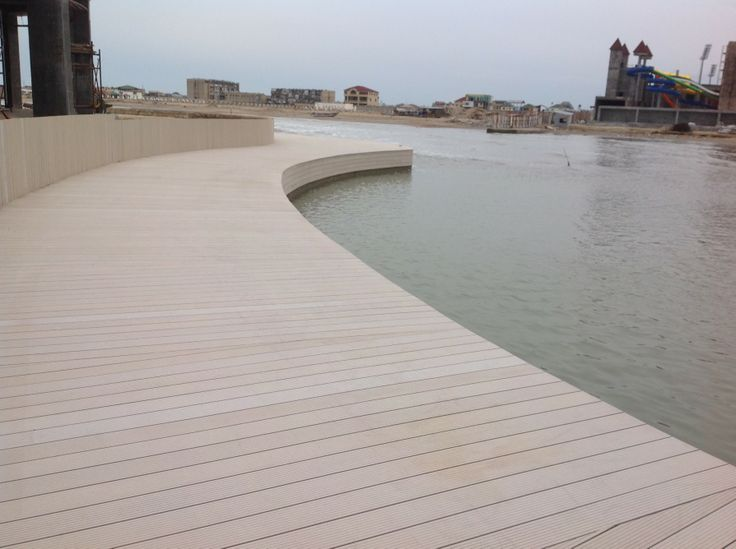 Many thousands of sq meters of #Eva-tech decking being installed in Azerbaijan. http://www.eva-tech.com/en/