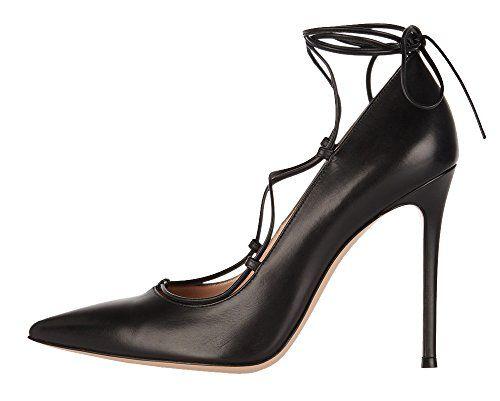 Guoar High Heels Damenschuhe Große Größe Spitze Zehen Hohl Lace -up Corss Ankle Strap Stiletto Pumps Party Hochzeit - http://on-line-kaufen.de/guoar/guoar-high-heels-damenschuhe-grosse-groesse-hohl