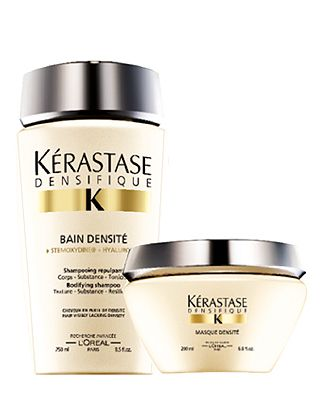 KERASTASE DENSIFIQUE KIT - CAPELLI FINI E SOTTILI - Il trattamento che aiuta a dare densità e volume ai capelli fini e diradati.