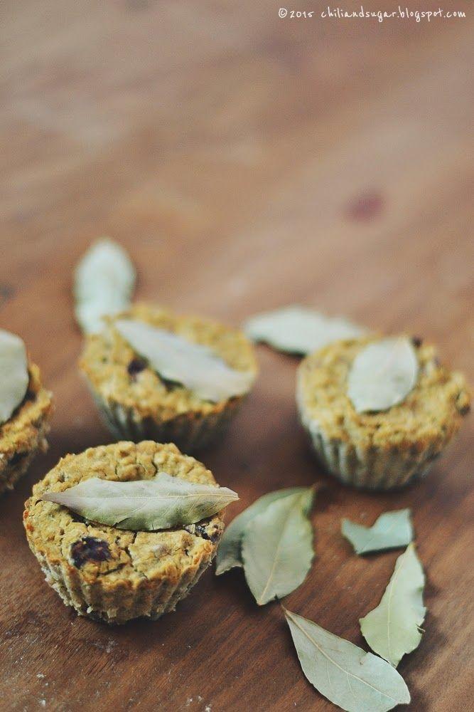 chili & sugar: wegańskie i bezglutenowe mini-pasztety fasolowe z żurawiną
