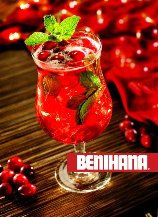 23 best things you can buy with a benihana gift card images on benihana spiced cranberry mojito bookmarktalkfo Choice Image