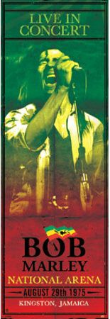 Bob Marley Concert Kingston Jamaica Music Door Poster Door Poster at AllPosters.com