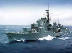 HMAS Voyager (D04) was a Daring class destroyer of the Royal Australian Navy (RAN). #2C