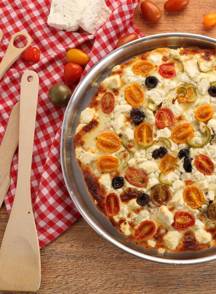 Greek Pizza بيتزا يونانية Greek Pizza Special Recipes Cooking