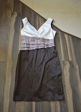 Kup mój przedmiot na #vintedpl http://www.vinted.pl/damska-odziez/sukienki-wieczorowe/18533271-elegancka-sukienka-na-wyjscie-satynowa-rozm42