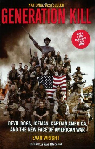 Generation Kill by Evan Wright. Interesting book on invasion of Iraq, couldn't get into the mini-series though