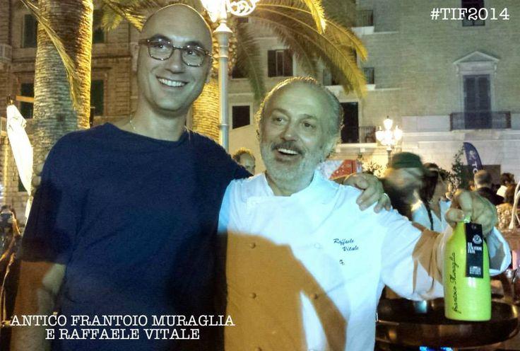 Antico Frantoio Muraglia e lo chef Raffaele Vitale #food #olio #extravirginoliveoil #evo #design
