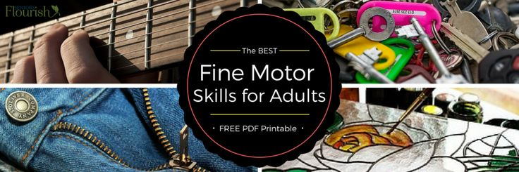 fine motor activities for older adults