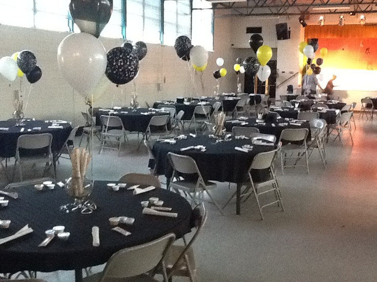 Musical Theme Banquet Tables
