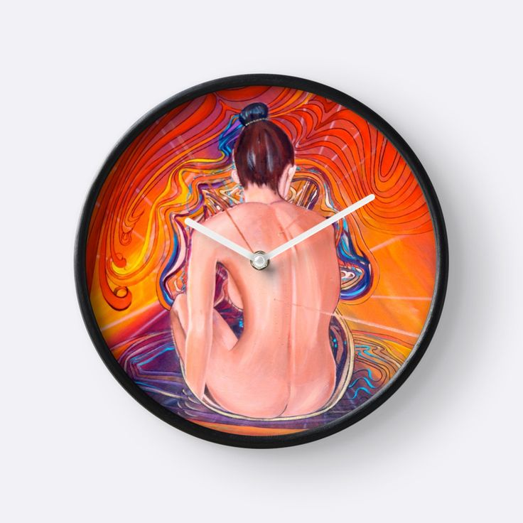 "Time for Acupuncture ""Acupuncture Energy"" Clocks by Giselle Luske 