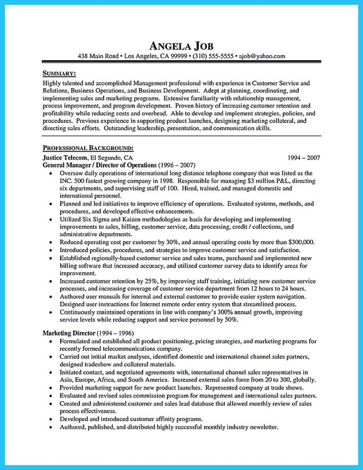 Pin On Resume Template Resume Objective Statement