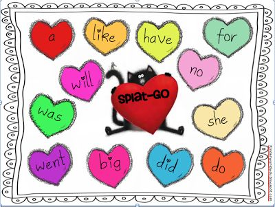 Splat The Cat Valentine S Day Activities