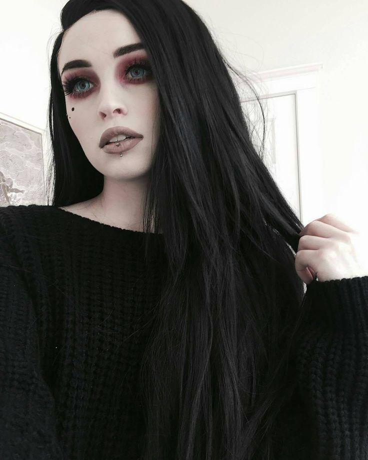 Rachael Fae Jouzai J0uzai Goth Cabello Verde Gothik Frauen Fotografie Ideen Kreativ Gothic Frisuren