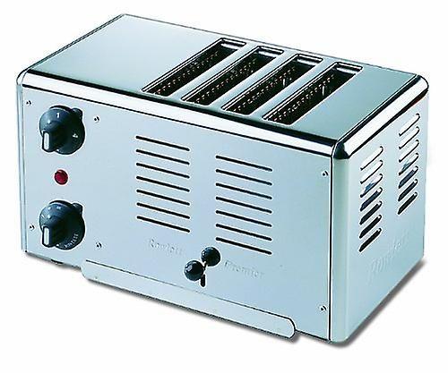 Rowlett Premier 4-Slice Polished Stainless Steel Bread Toaster, 2.3 Kw