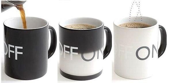 Free Shipping/color changing mug / Coffee & Tea Sets / Magic Coffee cup/christmas Gift/Wholesale