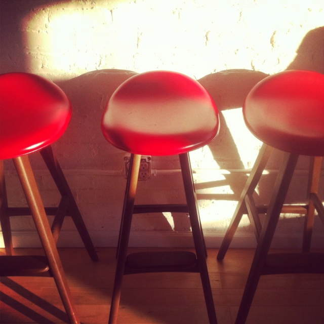 We have new stools at Our office in NY
