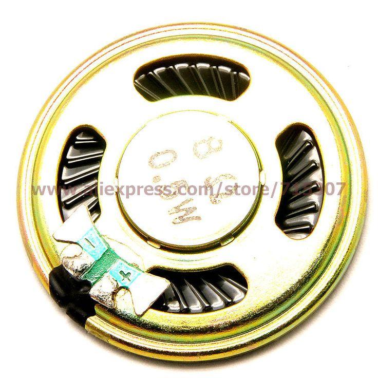PHISCALE 20pcs small speaker buzzer 4cm diameter 8ohm 0.5w  #Affiliate